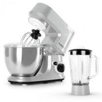 Klarstein Carina Argentea, kuchynský robot 800 W, mixovací nadstavec s 1.5 l nádobou