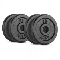 Capital Sports IPB 10 kg Set, sada závaží na činky, 4 x 2,50 kg, 30 mm