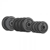 Capital Sports IPB 25 kg Set, sada závaží na činky, 4 x 1,25 kg + 4 x 2,5 kg + 2 x 5 kg, 30 mm