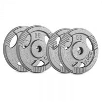 Capital Sports IP3H 15 kg Set, sada závaží na činky, 2 x 2,5 kg + 2 x 5 kg, 30 mm