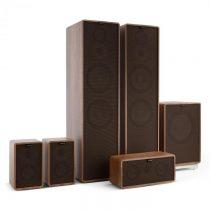 Numan Retrospective 1977 MKII 5.1 soundsystém orech vrátane čierno-hnedého krytu