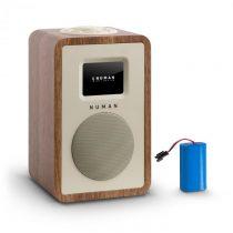 Numan Mini One Design digitálne rádio bluetooth DAB+ FM AUX orech vrátane nabíjacej batérie