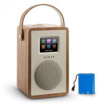 Numan Mini Two Design internetové rádio WiFi DLNA bluetooth FM orech vrátane nabíjacej batérie
