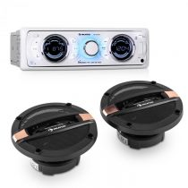 Auna MD-170-BT Car-Hifi-Set autorádio +4-cestný autoreproduktor MP3 USB SD BT