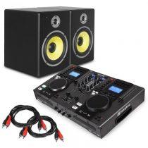 "Electronic-Star Electronic Star ""Starter Control"", DJ set, controller + 2 reproduktor"