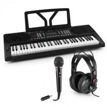 SCHUBERT Etude 300, set keyboard + slúchadlá + mikrofón s adaptérom