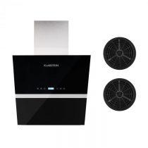 Klarstein Aurea VII, odsávač pár, set filtrov s aktívnym uhlím, 60 cm, čierna farba
