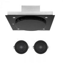 Klarstein Secret Service, vnútorná cirkulácia vzduchu, 110cm, 800m³/h, filter s aktívnym uhlím, čier...