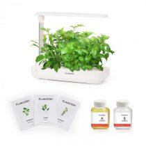 Klarstein Growlt Flex Starter Kit Europa, 9 rastlín, 18 W, LED, 2 l, európske semienka, výživový roz...