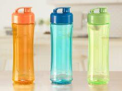 Fľaša na smoothie Joy Duomix Delimano, oranžová - recenzie, skúsenosti