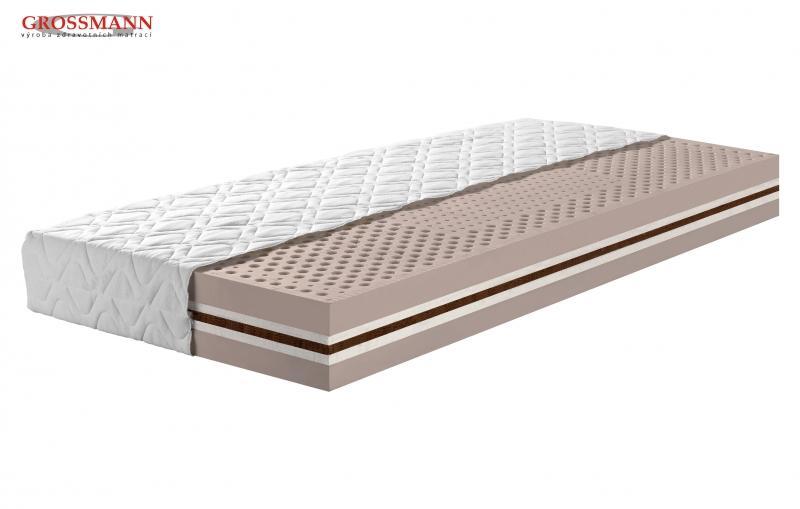 Luxusný matrac Xena zo 100% prírodného latexu, kokoslatexu a Biotex, cena: od 280,- €