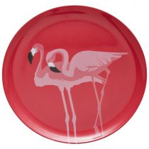 Plytký Tanier Flamingo Couple