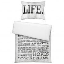Posteľná Bielizeň Life Is Yours -ext-
